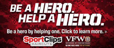Sport Clips Haircuts of San Marcos ​ Help a Hero Campaign